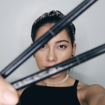 Maybelline Pencil Eyeliner (black) // BrowHaus Heavy Duty Bi-liner (black)