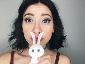 Say hi to my bunny friend!